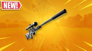 New Suppressed Sniper Rifle In Fortnite...