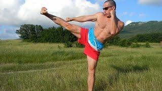Взрывная ударная сила ног 5 мин тренировка Упражнения чемпионов