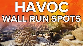 Black Ops 3 In Depth: Havoc Wall Run Spots!