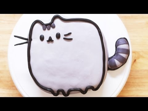 Make PUSHEEN CAT CAKE - NERDY NUMMIES Screenshots