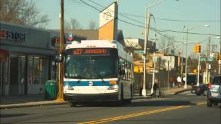 mta new york city transit new flyer xd40 xcelsior 4821 sound recording