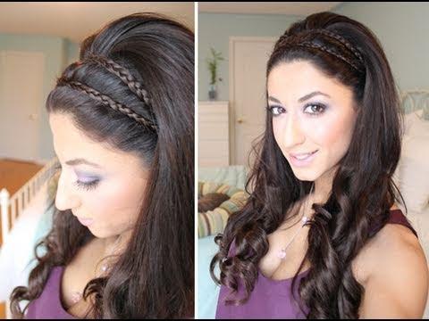 greek goddess inspired spring hair