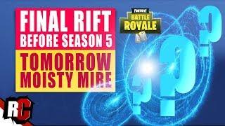 Fortnite | FINAL Rift/Portal Found in Moisty Mire (Season 5 New Map Objects / Rift Locations)