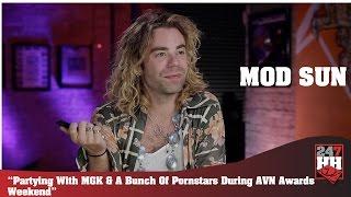 Mod Sun - Partying w/MGK & A Bunch Of Pornstars During AVN Awards Weekend (247HH Wild Tour Stories)