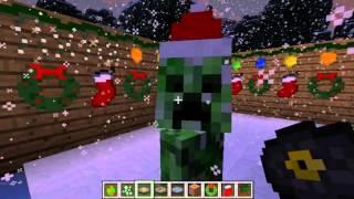 Обзор мода#10:Christmas Mod для minecraft 1.6.4 от 1mix