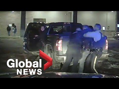 Alberta RCMP dashcam video shows violent arrest of Chief Allan Adam