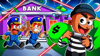 ROBLOX BIG BANK ROBBERY STORY...