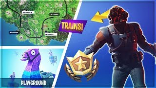 TRAINS COMING TOMORROW & PLAYGROUND MODE (Giveaway & Interactive Streamer) - Fortnite Battle Royale