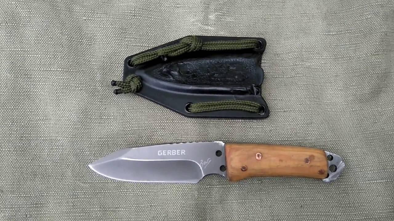 Bear Grylls Paracord knife new handle - YouTube