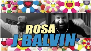 J. Balvin - Rosa Music Reaction | DANCE WHILE YOUR IN QUARANTINE!!