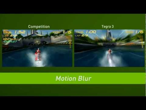 NVIDIA Tegra 3 Comparison with other Chips