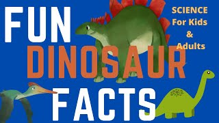 10 FUN DINOSAUR FACTS FOR KIDS!!
