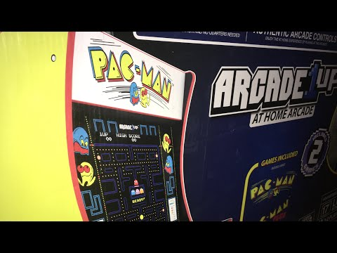 Arcade 1up PAC MAN Installation Basic Review Walmart