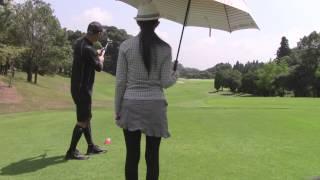 マーク金井と森下千里のゴルフを極める「ゴル極」 ティーアップのコツ 森下千里 動画 27
