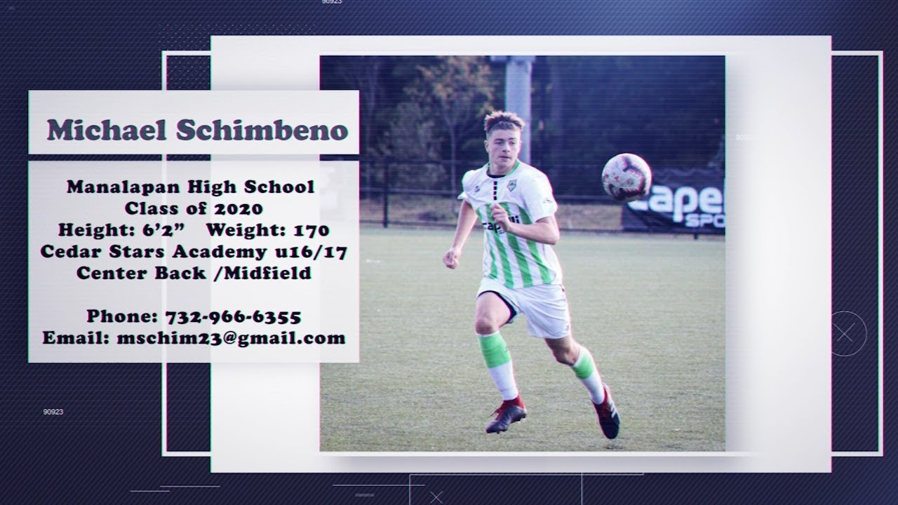 Michael Schimbeno 2019 Soccer Highlight Film