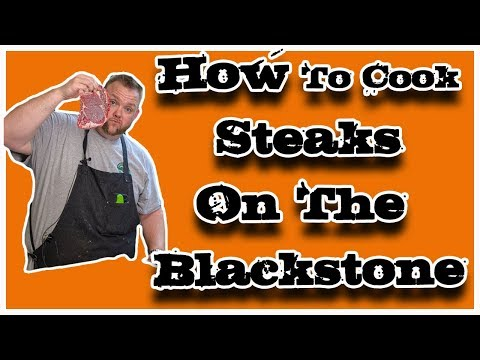 Steaks On The Blackstone Griddle