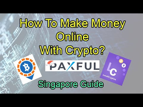💰Making Money Online With Crypto | Singapore Guide💰