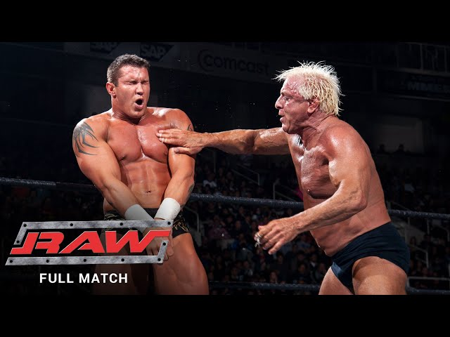 FULL MATCH - Randy Orton & Shawn Michaels vs. Ric Flair & Triple H: Raw, Jan. 31, 2005