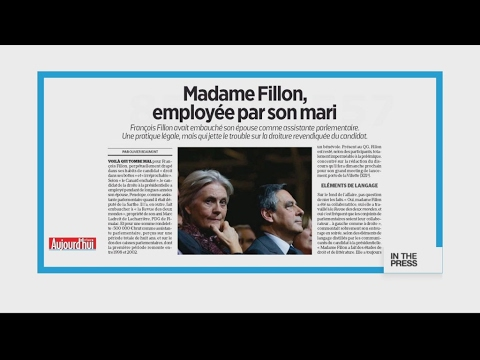 French presidential hopeful Fillon 'paid wife €500,000 of taxpayers' money'
