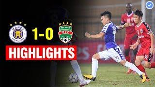 Highlights: Hà Nội 1 - 0 Bình Dương | Khoẳnh khắc Tấn Trường xứng đáng được đúc tượng tại Hàng Đẫy
