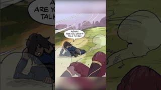 Korra and Asami Kiss Animated 🥰 Turf Wars Motion Comic   The Legend of Korra #Shorts
