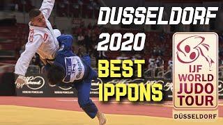 Top Judo Ippons from Dusseldorf Judo Grand Slam 2020