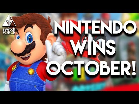 Switch Dominates Sales Charts For October!