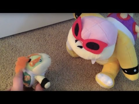 Super Plush Mario: The Many Booms of Bowser Jr
