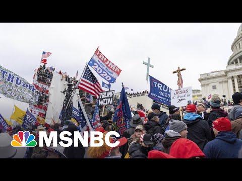 Trump Vet Sparks 'Coup' Backlash As Trump Faces Legal Jeopardy | MSNBC