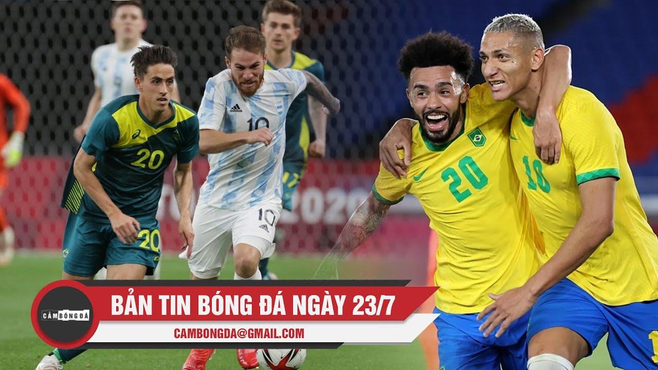 Bản tin Bóng đá ngày 23/7   Argentina thất bại trận mở màn; Richarlison tỏa sáng giúp Brazil hạ Đức