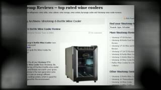 Vinotemp 6 Bottle Wine Cooler