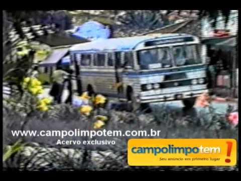 Campo Limpo Paulista - Vídeos antigos da década de 70 - Ônibus