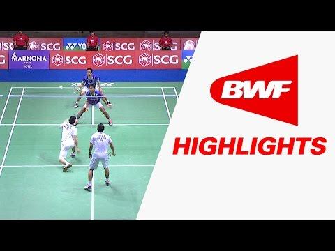 SCG Thailand Open 2015 | Badminton SF – Highlights
