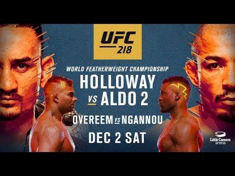 UFC 218 Holloway v Aldo II Breakdown and Fight Predicitions