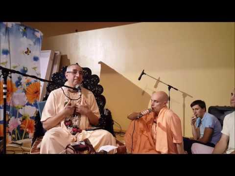 Niranjana Swami – Lecture on Sri Krsna Janmastami in Vilnius, Lithuania – 25-Aug-2016