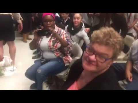 JFK School ( Karaoke) Mr. Abolla - Respect