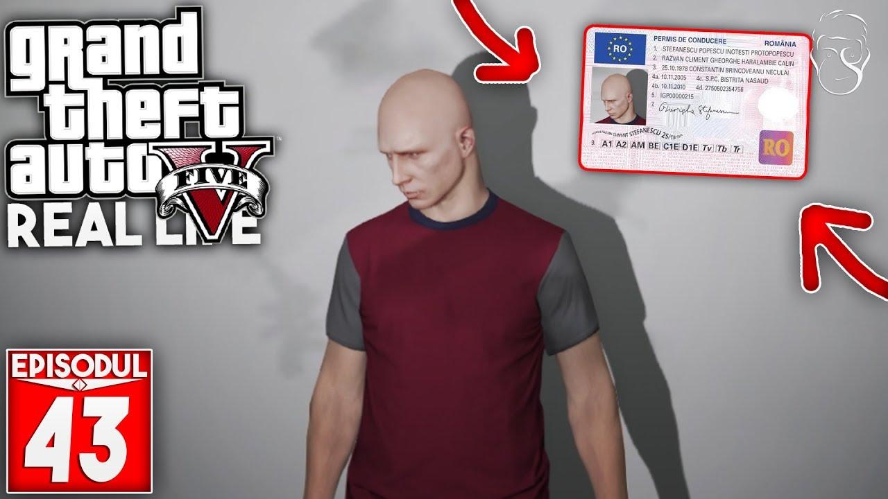 GTA Real Life | Am luat permisul de conducere! | Episodul 43