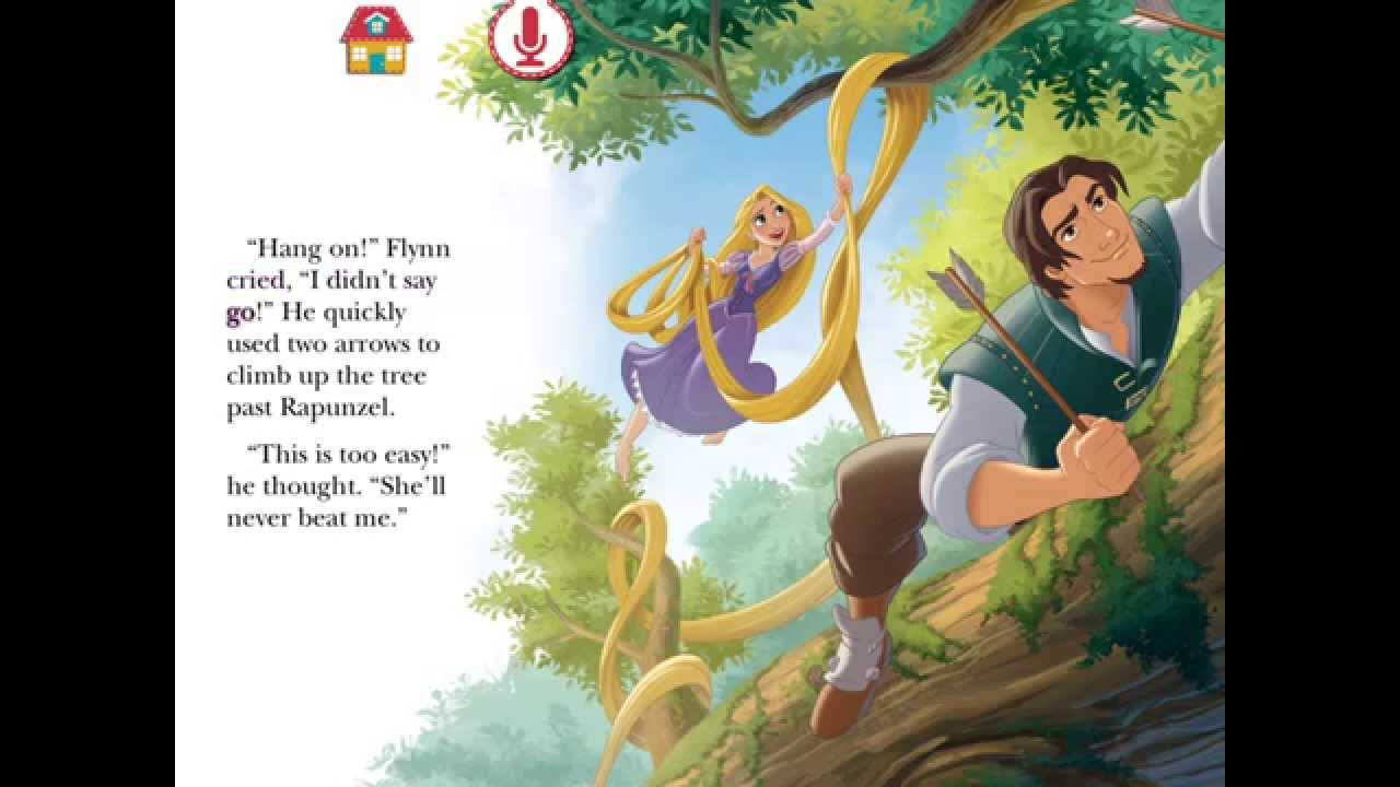 Rapunzel Challenge Story Book by Disney Story Time| Disney Princess