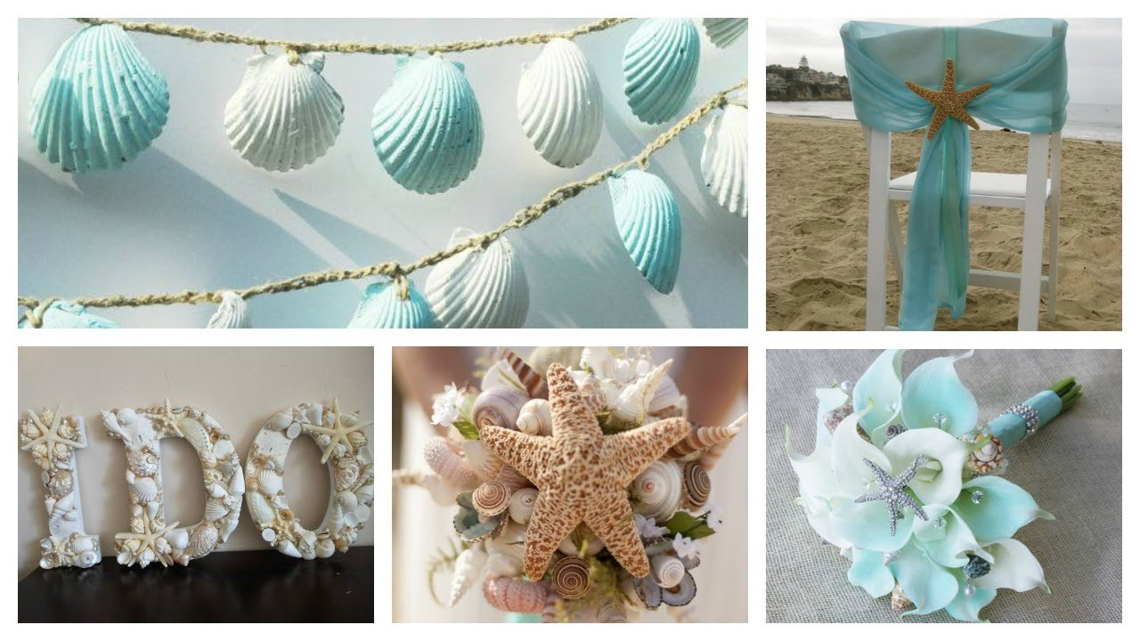 Beach Wedding Decor | Ideas & Inspirations - YouTube