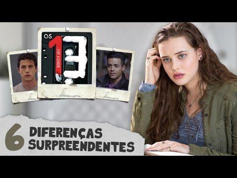 6 DIFERENÇAS DA SÉRIE PARA O LIVRO 13 REASONS WHY