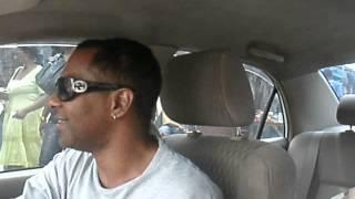 ONLY WHITE MAN IN KINGSTON JAMAICA