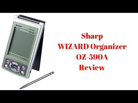Sharp WIZARD Organizer OZ 590A Review