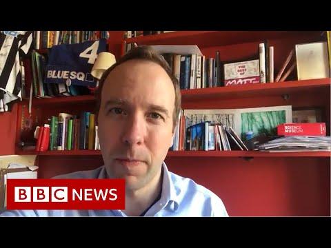 Coronavirus: UK Health Secretary Hancock Also Tests Positive - BBC News
