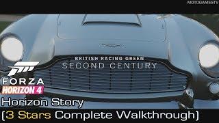 Forza Horizon 4 - British Racing Green Horizon Story (3 Stars Complete Walkthrough