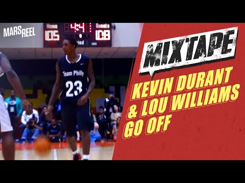 Kevin Durant And Lou Williams Go OFF For 50+ Each; Team Philly Vs. Team DC Recap!