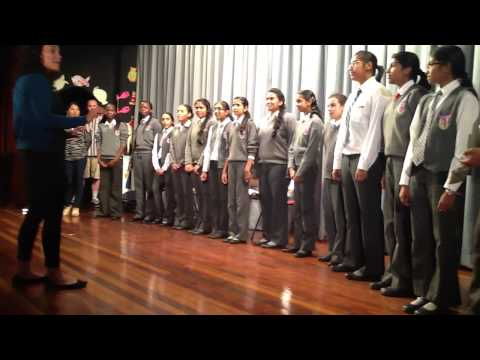 Braeburn Garden State Choir and S.O.U.L sing