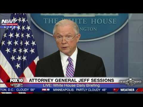 WATCH: Attorney General Jeff Sessions Announces Action AGAINST Sanctuary Cities