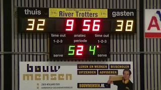 19 january 2019 Rivertrotters MSE2 vs MSV MSE1 75-88 2nd period