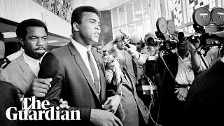 Trump suggests unnecessary pardon for Muhammad Ali