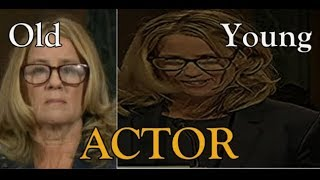 Christine Blasey Ford is an ACTOR and family is CIA